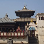 Det heliga templet Pashupatinath. Nepal (U)