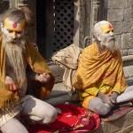 Heliga män. Pashupatinath