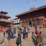 Shiva och Parvatitemplet. Kathmnadu. Nepal (U)