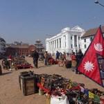 Basantapur torget. Kathmandu (U)