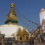 Swayumbunath, Aptemplet. Kathmandu. Nepal (U)