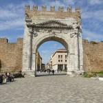 Arco di Augusto. Rimini