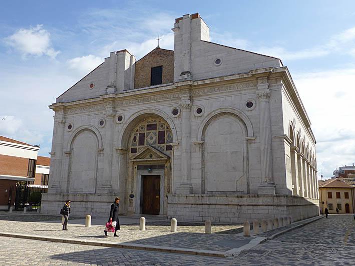 Tempio Malatestiano. Rimini