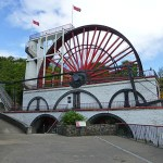 Great Laxey Wheel. Laxey