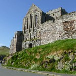 Del av Peel Castle