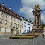 Nam Sv Trojice. Banska Stiavnica. Slovakien (U)