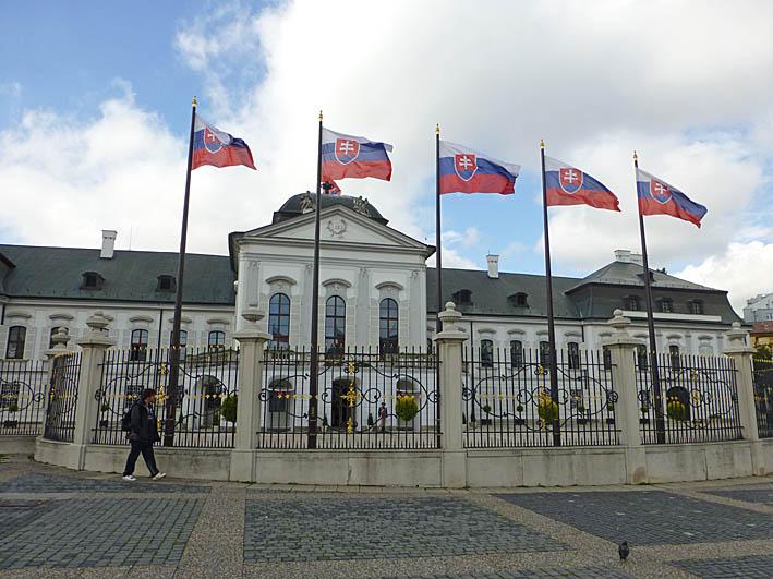 Presidentpalatset. Bratislva