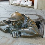 "Statyn ""The worker"". Bratislava"