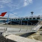 Översvämning på Donau. Bratislava