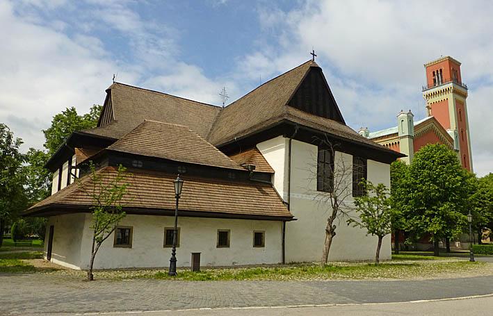 Träkyrkan. Kezmarok (U)