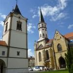 Kyrkan Chram Sv Jakuba. Levoca (U)
