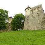 Bastion från 1500-talet. Lubovna Hrad