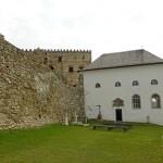 Kapellet, byggt på 1640-talet. Lubovna Hrad