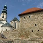 Kyrkan och borgen. Nitra