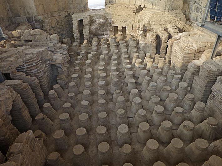 Romerskt bad. Beit Shean