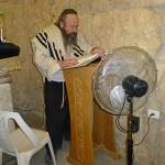 Lärd man vid kung Davids grav. Jerusalem