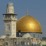 Klippdomen. Jerusalem