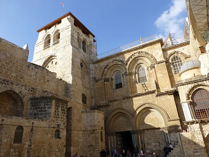 Golgata. Jerusalem