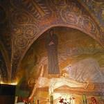 Här korsfästes Jesus. Golgata. Jerusalem