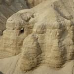 En av grottorna. Qumran