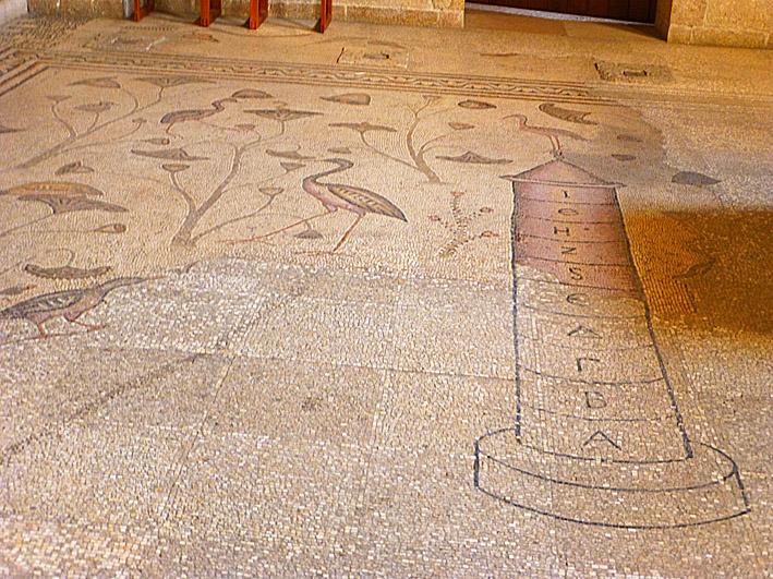 Romersk mosaik. Tabgha