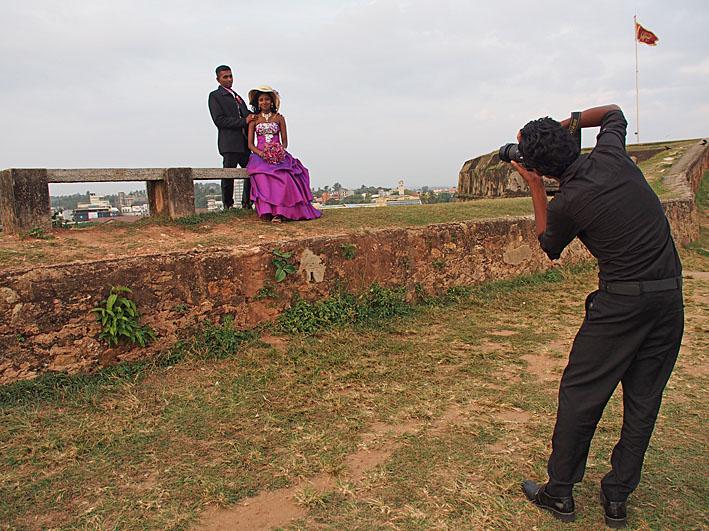 Bröllopsfotografen. Galle