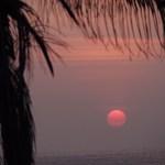 Solnedgång. Mirissa