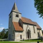 Kyrkan. Bro. Gotland