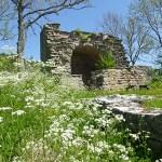 Fardume slott. Gotland