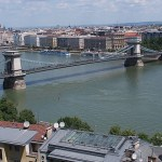 Stadslandskapet vid Donau. Budapest (U)