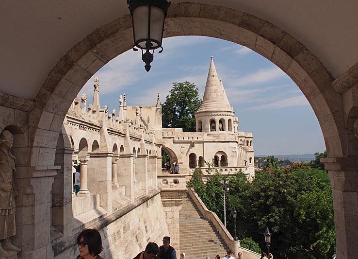 Fishermans bastion. Budapest (U)