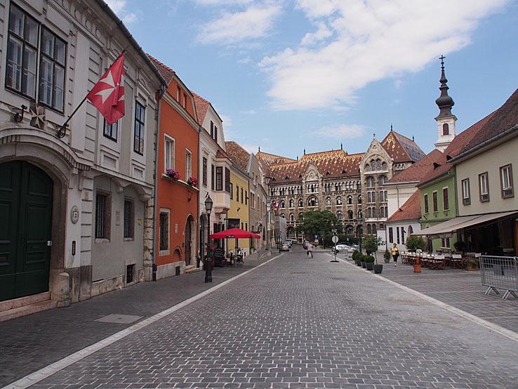 Slottskvarteren. Budapest (U)