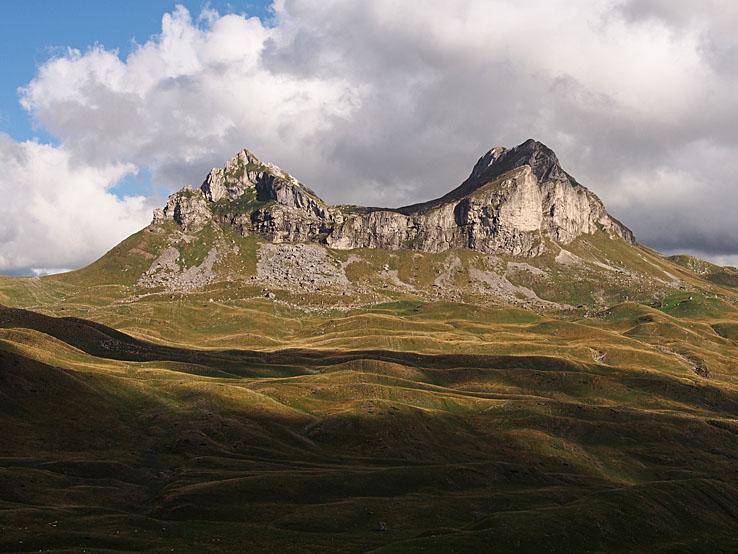 Berget Sedlena Greda, 2 227 möh. Durmitor N P (U)