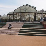 Lalbaghs botaniska trädgård . Bangalore