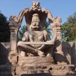 Statyn Ugra Narasimha. Hampi (U)