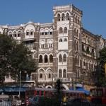 Kolonial byggnad. Mumbai