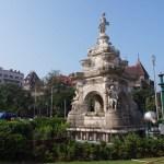 Floras fontän. Mumbai