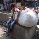 Dhobi ghat, Mumbais största tvätteri. Mumbai