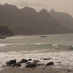 Vy från Roque de las Bodegas