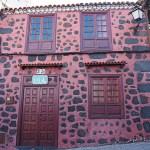 Traditionellt hus. La Orotava