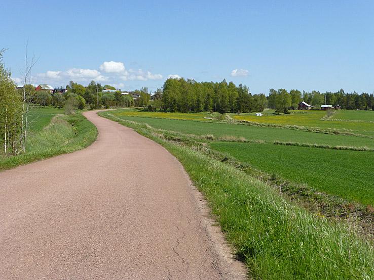 På stilla vägar... Hammarland