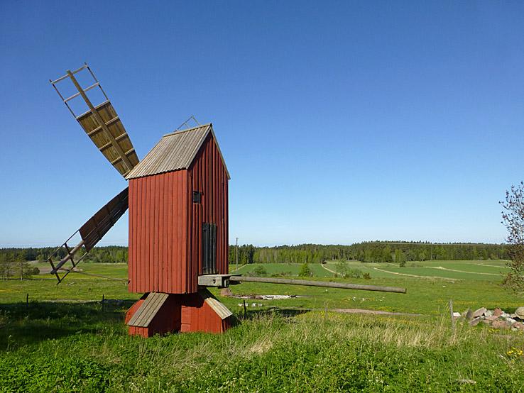 Gammal jordbruksbygd. Hammarland