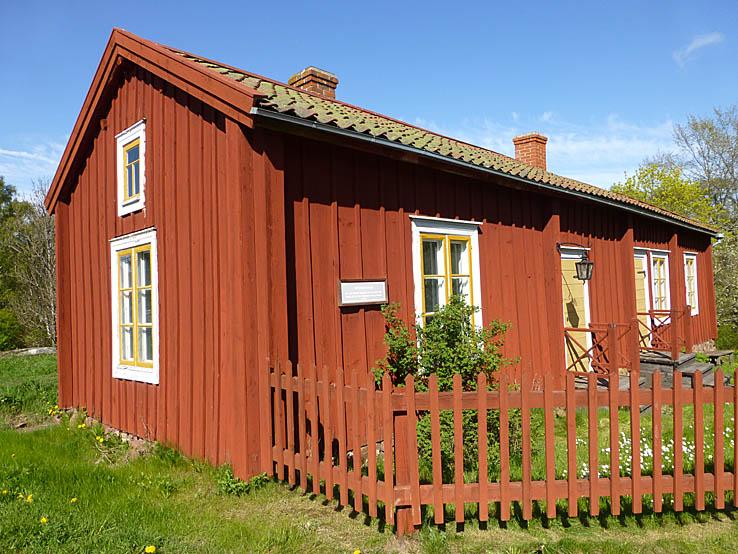 Ett av de äldsta husen. Mariehamn