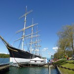 Skeppet Pommern. Mariehamn