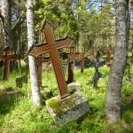 Den gamla kyrkogården. Vargata