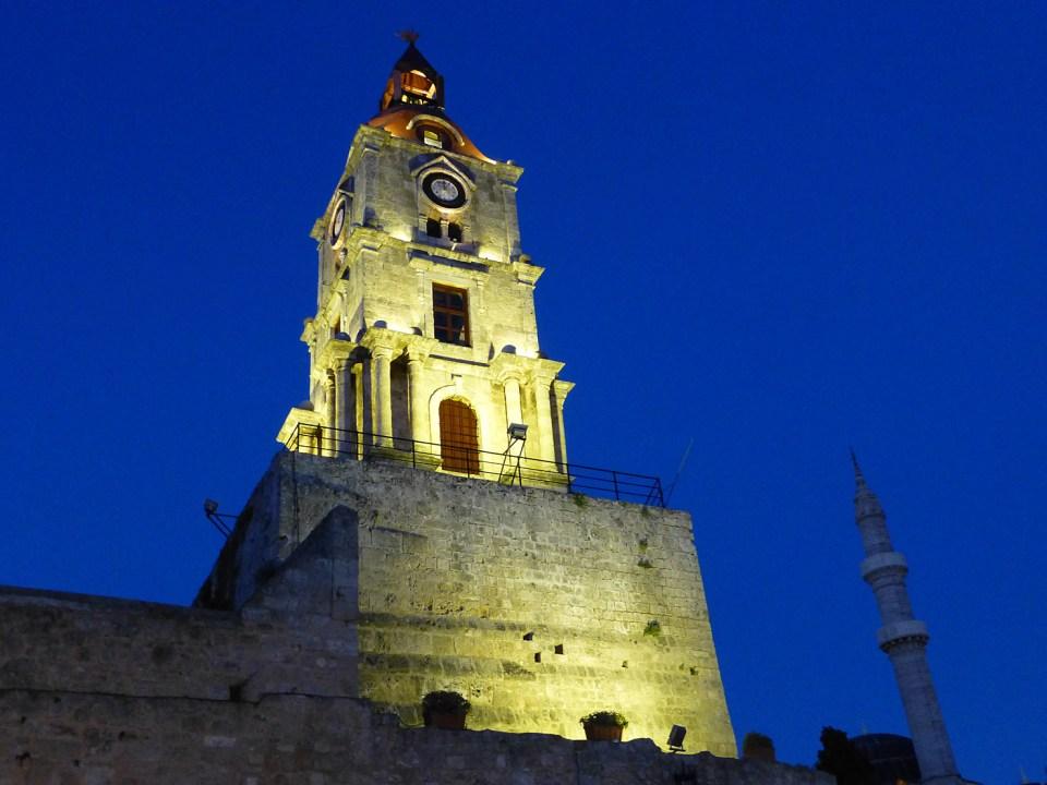 Kyrka i gamla staden. Rhodos stad (U)