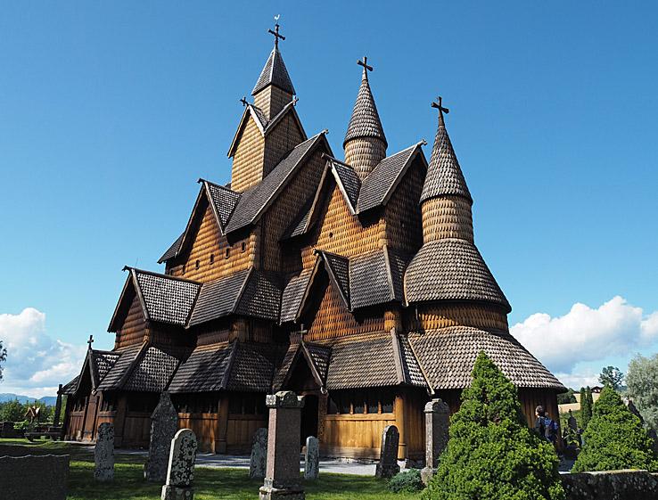 Stavkyrkan. Heddal