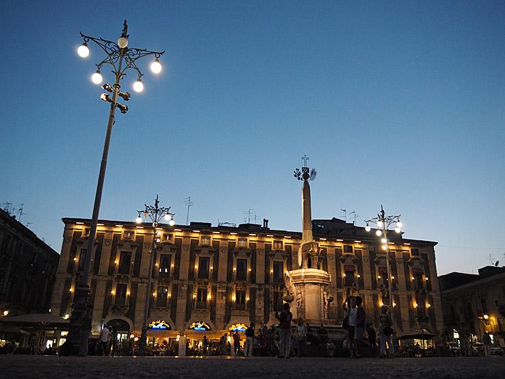 Piazza del Duomo. Catania (U)