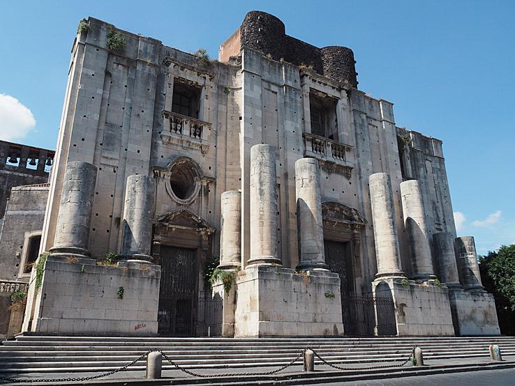 Chiesa San Nicolò. Catania (U)