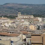 Vy över Palazzolo Acreide
